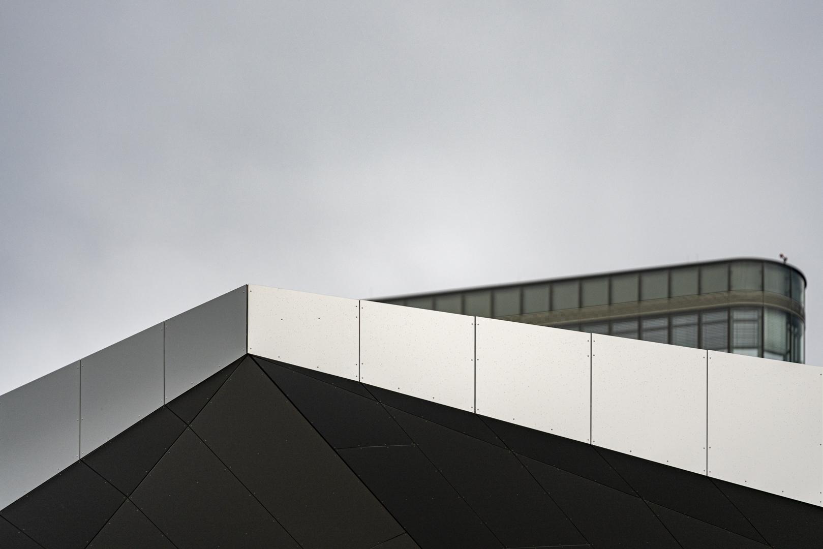 Architekturfotografie Detail Hauptbahnhof Wien von Fotograf Michael Pinzolits