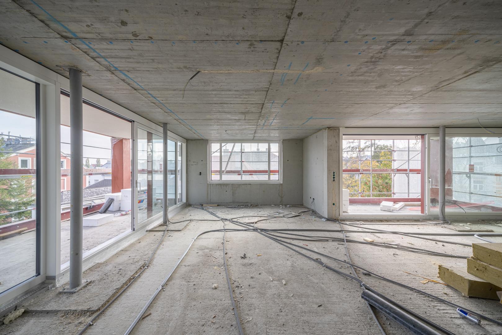 Baustellendokumentation Neubau Wien von Fotograf Michael Pinzolits