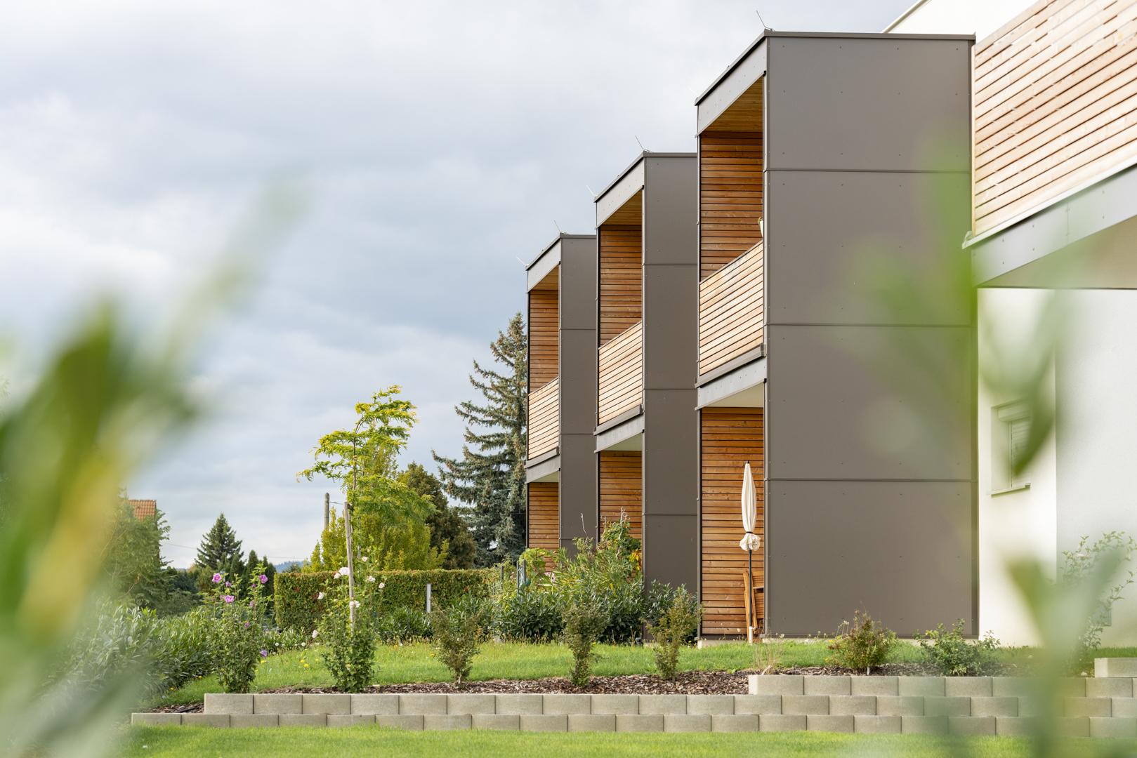 Architekturfotografie Pflegezentrum Neubau von Fotograf Michael Pinzolits