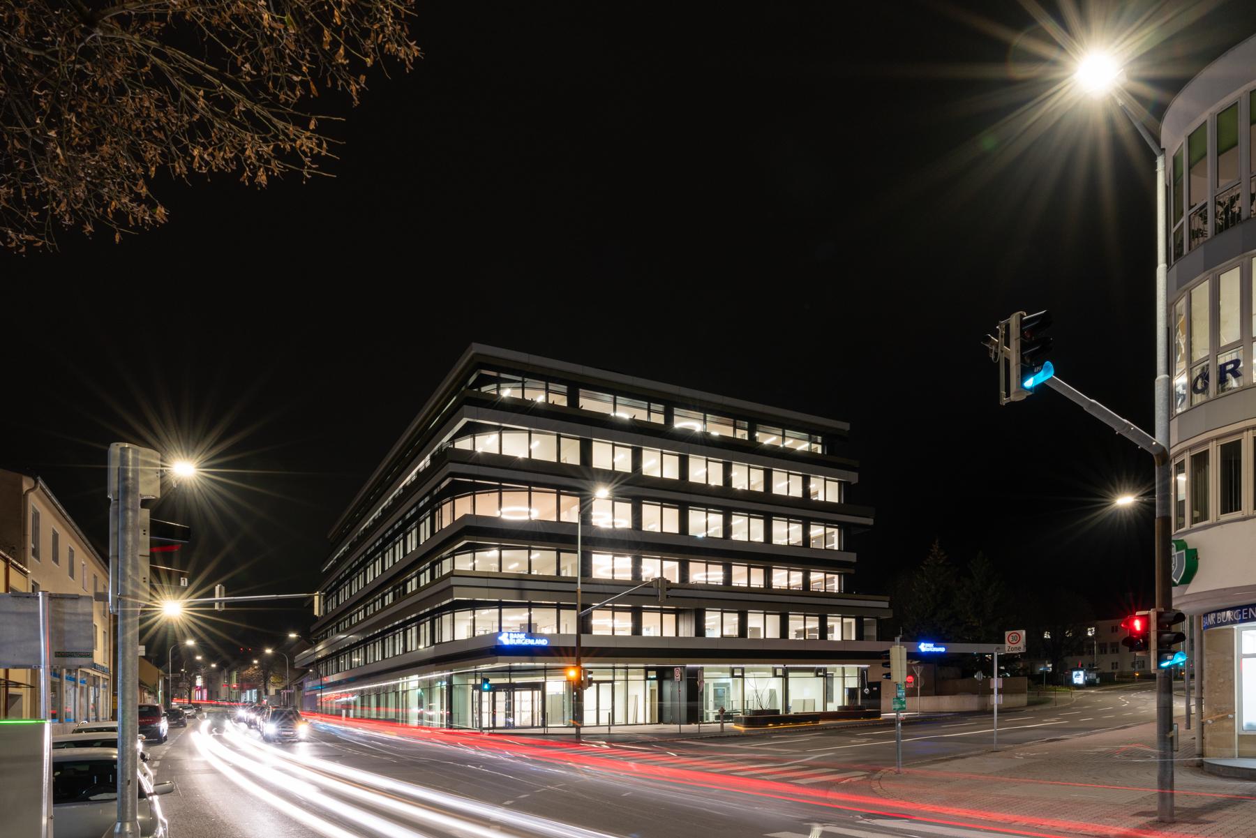 Bank Burgenland kurz vor Fertigstellung